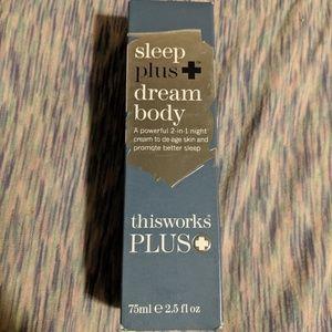 This Works Sleep Plus Dream Body NWOT